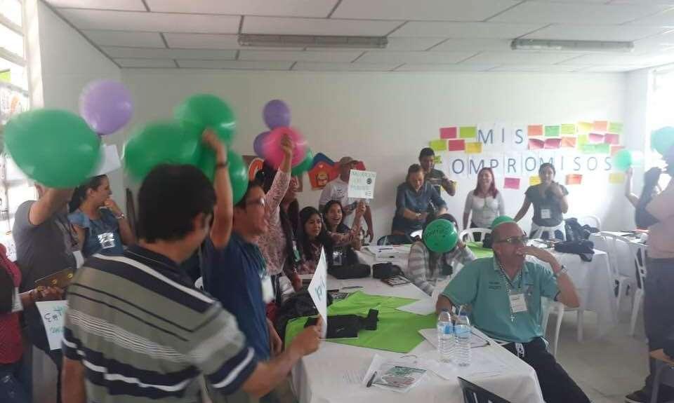 Capacitación estrategia gobierno estudiantil - inducción Quinchia Risaralda 12 al 15 de junio